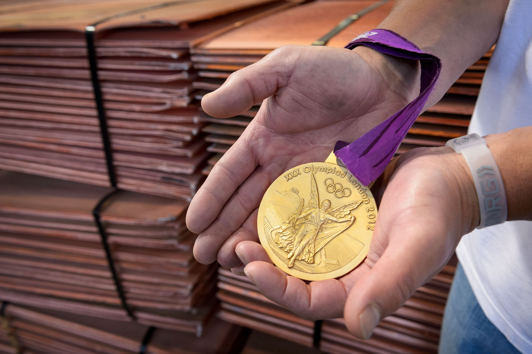 Rio Tinto Olympic Medals