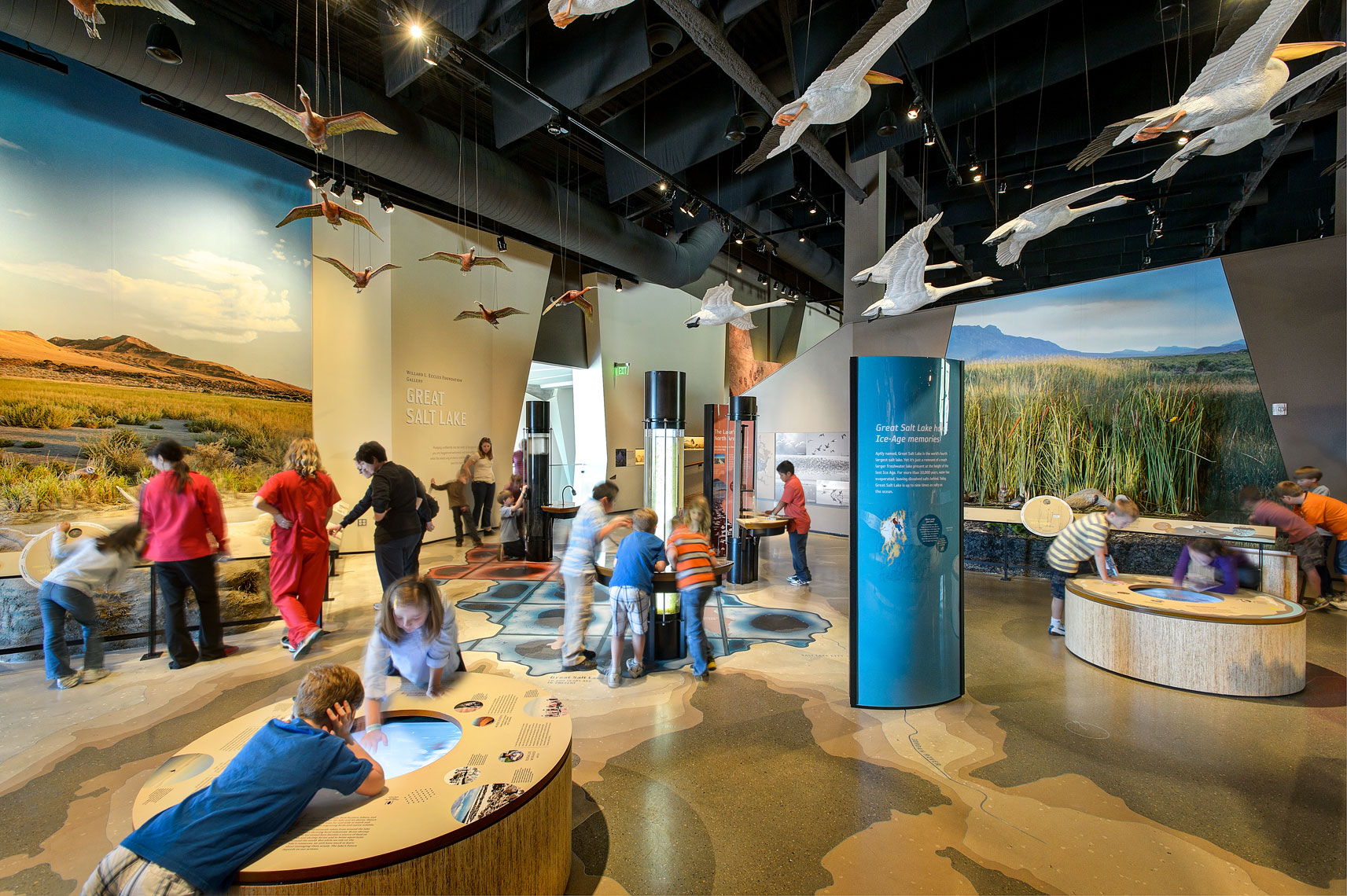 Natural History Museum of Utah, Museum Exhibits